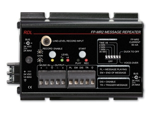 RDL Introduces FP-MR2 Message Repeater